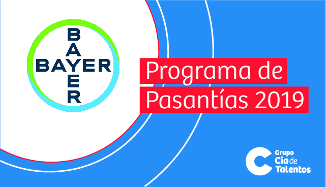 Programa de Pasantías Bayer 2019 Crop Science